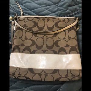 Coach original signature crossbody bag & wallet